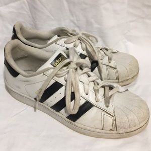 Classic Adidas Superstar sneakers